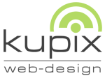 Logo der Internetagentur »kupix webdesign«